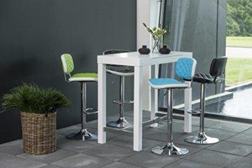 AC Design Furniture Bartisch Laura, B: 120 x T:60 x H: 105 cm, MDF, Weiss - 3