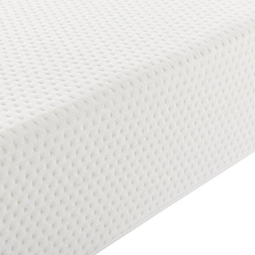 ArtLife Polsterbett Marbella - 180 x 200 cm - weiß mit Lattenrost & Kaltschaummatratze - 6