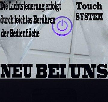 Badmöbel Set Badezimmermöbel Komplett Set Waschbeckenschrank mit Waschtisch Spiegel 2 hochschränke mit LED Hochglanz Fronten Schwarz 70 cm Vormontiert Homeline1 - 8