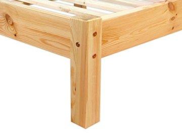Erst-Holz 60.35-14 Futonbett mit Rollrost - 140x200 - Massivholz Natur - 4