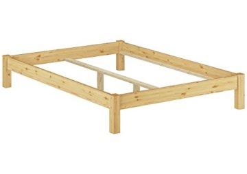 Erst-Holz 60.35-14 Futonbett mit Rollrost - 140x200 - Massivholz Natur - 5