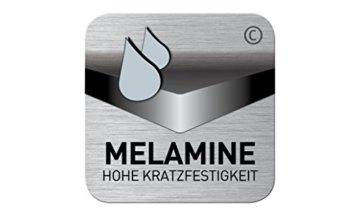 FMD Möbel L913-001 Olbia 2.0 Waschmaschinen,Trockner, WC-Überbau, Hauswirtschaftsschrank, Schrank mit Zwei Türen, Holz, Weiß, 64 x 26 x 190 cm - 5