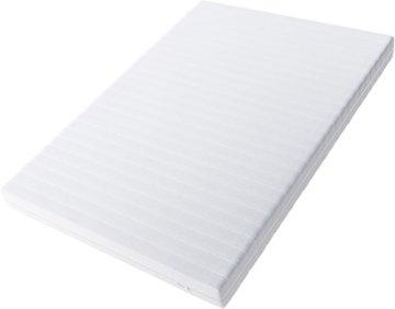 Hilding Sweden Essentials Schaumstoffmatratze in Weiß / Mittelfeste Matratze mit orthopädischem 7-Zonen-Schnitt für alle Schlaftypen (H2-H3) / 200 x 140 x 16 cm - 1