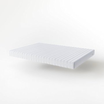 Hilding Sweden Essentials Schaumstoffmatratze in Weiß / Mittelfeste Matratze mit orthopädischem 7-Zonen-Schnitt für alle Schlaftypen (H2-H3) / 200 x 140 x 16 cm - 6
