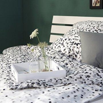 Homestyle4u 1836 Holzbett 180x200 cm Doppelbett Weiß mit Lattenrost Futonbett 180 x 200 Bettgestell Bett aus Kiefer Massivholz - 6