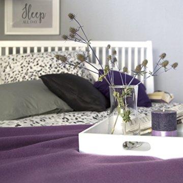 Homestyle4u 1844, Holzbett 140x 200 Weiß, Bett mit Lattenrost, Kiefer Massivholz - 4