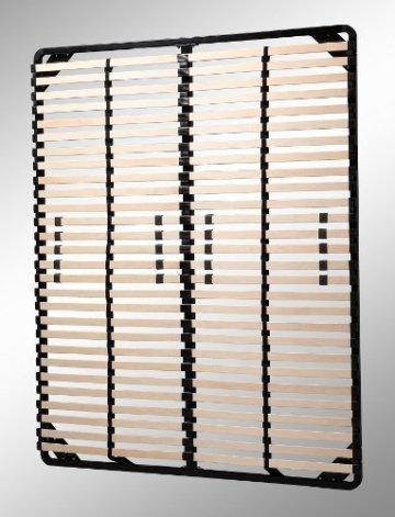 i-flair® Lattenrost 180x200 cm, Lattenrahmen für alle Matratzen geeignet - alle Größen - 2