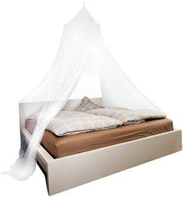 infactory Moskitonetze für Betten: Moskitonetz für Doppelbetten, 190 Mesh (Mückennetz Doppelbett) - 1