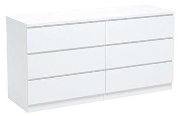 INFINIKIT Haven Kommode mit 6 Schubladen - Weiß - 1