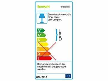 linovum® WEEVO IP44 LED Decken Einbauleuchten 10er Set extra flach - Strahler Spot neutralweiß für Bad, Küche, Möbel, Außen - 2