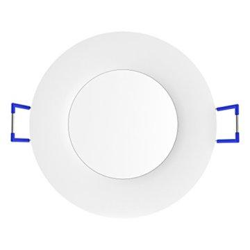 linovum® WEEVO IP44 LED Decken Einbauleuchten 10er Set extra flach - Strahler Spot neutralweiß für Bad, Küche, Möbel, Außen - 6