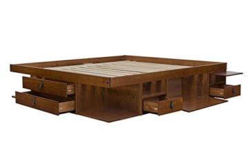 Memomad Funktionsbett Bali 160x200 viel Stauraum, Schubladen, Preis inkl. Lattenrost - 3
