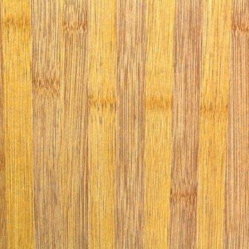 Relaxdays Waschbeckenunterschrank LAMELL aus Bambus H x B x T: ca. 60 x 67 x 30cm Unterschrank fürs Waschbecken oder den Waschtisch Waschtischunterschrank aus Holz mit 2 Türen in Lamellen-Optik, natur - 6