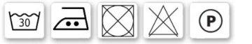 SixBros. Hochbett Kinderbett Spielbett mit Rutsche Massiv Kiefer Natur/Lackiert - Lila/Beige - SHB/11/1033 - 4