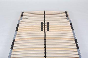 TAURO 22914 7 Zonen Lattenrost, 90 x 200 cm, Geeignet für alle Matratzen, Kopfteil verstellbar, Komfort Lattenrost mit 28 Leisten - 9